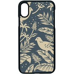 Birds Nature Design Iphone X Seamless Case (black)
