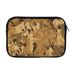 Abstract Grunge Camouflage Background Apple Macbook Pro 17  Zipper Case