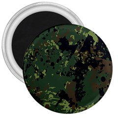 Military Background Grunge Style 3  Magnets