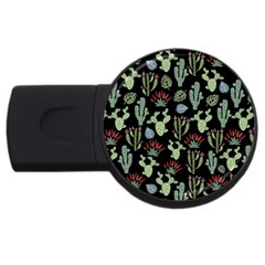 Cute Africa Seamless Pattern Usb Flash Drive Round (4 Gb) by Vaneshart