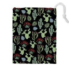 Cute Africa Seamless Pattern Drawstring Pouch (5xl)