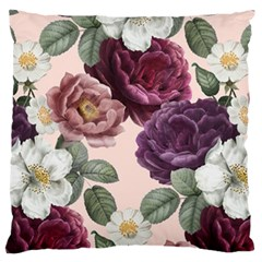 Romantic Floral Background Standard Flano Cushion Case (one Side)
