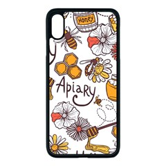 Honey Seamless Pattern Iphone Xs Max Seamless Case (black) by Vaneshart