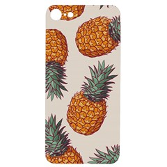 Seamless Pattern With Vector Illustrations Pineapples Iphone 7/8 Soft Bumper Uv Case