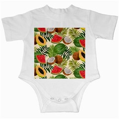 Tropical Pattern Background Infant Creepers