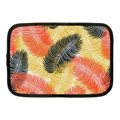 Tropical Seamless Pattern With Exotic Palm Leaves Netbook Case (medium)