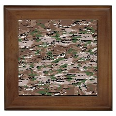 Fabric Camo Protective Framed Tile
