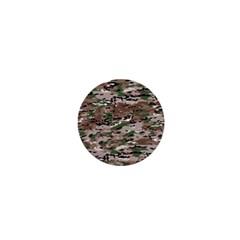 Fabric Camo Protective 1  Mini Magnets
