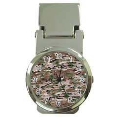 Fabric Camo Protective Money Clip Watches