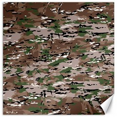 Fabric Camo Protective Canvas 12  X 12