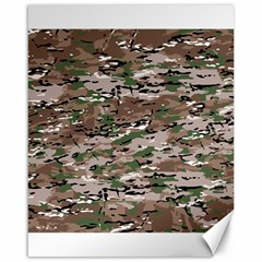 Fabric Camo Protective Canvas 16  X 20