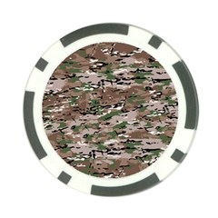 Fabric Camo Protective Poker Chip Card Guard