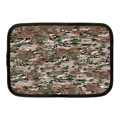 Fabric Camo Protective Netbook Case (medium) by HermanTelo