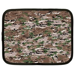 Fabric Camo Protective Netbook Case (large)