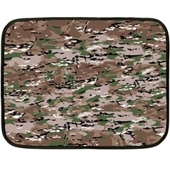 Fabric Camo Protective Fleece Blanket (mini)