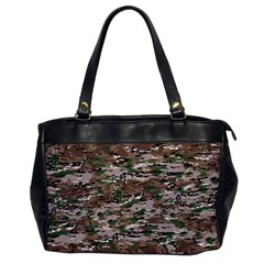 Fabric Camo Protective Oversize Office Handbag