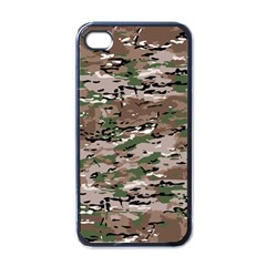 Fabric Camo Protective Iphone 4 Case (black)
