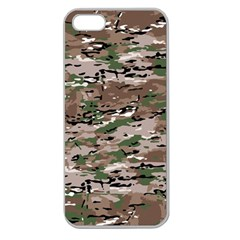 Fabric Camo Protective Apple Seamless Iphone 5 Case (clear)