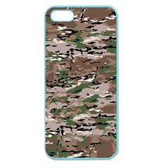 Fabric Camo Protective Apple Seamless Iphone 5 Case (color)