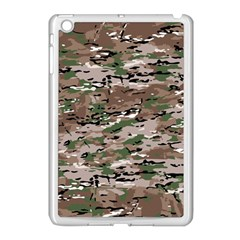 Fabric Camo Protective Apple Ipad Mini Case (white)