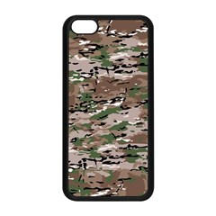 Fabric Camo Protective Iphone 5c Seamless Case (black)