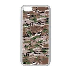 Fabric Camo Protective Iphone 5c Seamless Case (white)