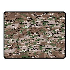 Fabric Camo Protective Double Sided Fleece Blanket (small)