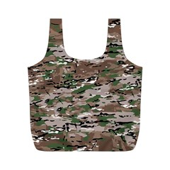 Fabric Camo Protective Full Print Recycle Bag (m)