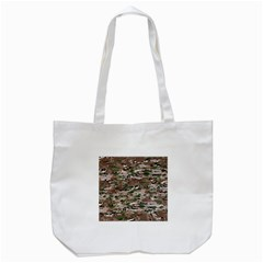 Fabric Camo Protective Tote Bag (white)