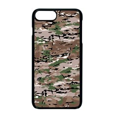 Fabric Camo Protective Iphone 7 Plus Seamless Case (black)