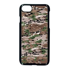 Fabric Camo Protective Iphone 7 Seamless Case (black)