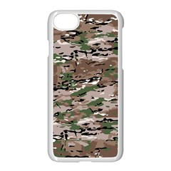 Fabric Camo Protective Iphone 7 Seamless Case (white)