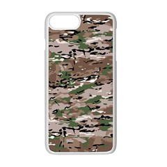 Fabric Camo Protective Iphone 8 Plus Seamless Case (white)