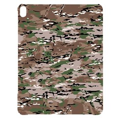 Fabric Camo Protective Apple Ipad Pro 12 9   Black Uv Print Case