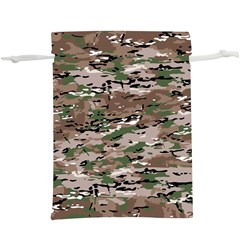 Fabric Camo Protective  Lightweight Drawstring Pouch (xl)