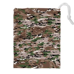 Fabric Camo Protective Drawstring Pouch (4xl)