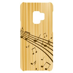 Background Music Nuts Sheet Samsung S9 Black Uv Print Case