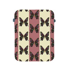Butterflies Pink Old Old Texture Apple Ipad 2/3/4 Protective Soft Cases