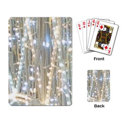 String Of Lights Christmas Festive Party Playing Cards Single Design (rectangle) by yoursparklingshop