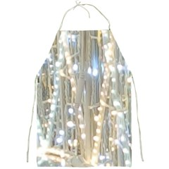 String Of Lights Christmas Festive Party Full Print Apron by yoursparklingshop
