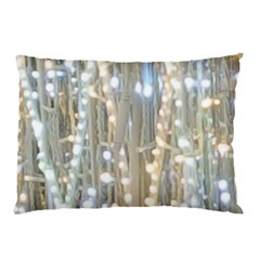 String Of Lights Christmas Festive Party Pillow Case (two Sides) by yoursparklingshop