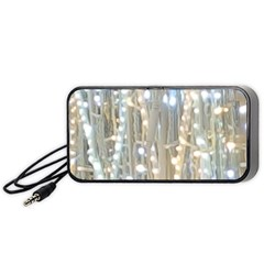 String Of Lights Christmas Festive Party Portable Speaker by yoursparklingshop