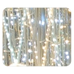 String Of Lights Christmas Festive Party Double Sided Flano Blanket (small)  by yoursparklingshop
