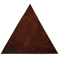Leather To Leather 4 Wooden Puzzle Triangle by skindeep