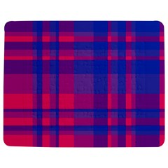 Bisexual Plaid Jigsaw Puzzle Photo Stand (rectangular) by NanaLeonti
