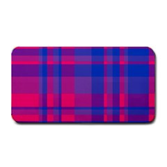 Bisexual Plaid Medium Bar Mats by NanaLeonti