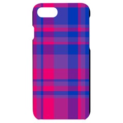 Bisexual Plaid Iphone 7/8 Black Uv Print Case by NanaLeonti