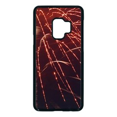 Fireworks Red Orange Yellow Samsung Galaxy S9 Seamless Case(black) by Bajindul