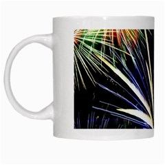 Fireworks Rocket Night Lights White Mugs by HermanTelo