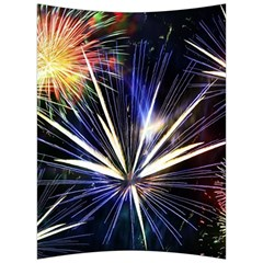 Fireworks Rocket Night Lights Back Support Cushion by HermanTelo